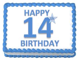 14 лет сервису